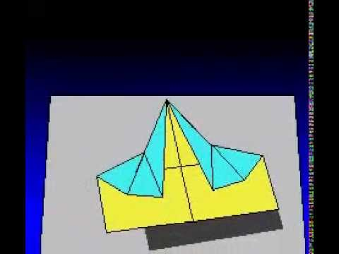 How to Make the Magnificent Barracuda Paper Airplane Instructions Video