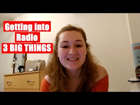 Charlotte ep.2 - Getting into Radio - 3 Big Things | The Great Grad Job Hunt