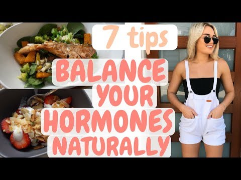 7 Tips - Balance Your Hormones Naturally II What I Eat In A Day - High Fat Low Carb #WedShred