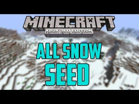 All Snow Seed - Minecraft (Xbox 360) TU12 Seed Showcase #10