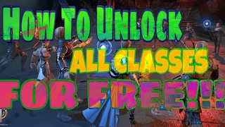 Skyforge Ps4 - How To Unlock All Classes For Free