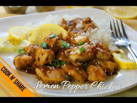 Lemon Pepper Chicken in 30 Minutes