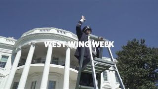 """West Wing Week: 09/30/16 or, """"Hello Team USA"""""""