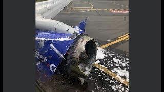 Southwest Plane Makes Emergency Landing after Engine Explodes - LIVE BREAKING NEWS COVERAGE