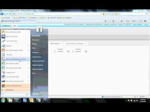 SQL Server to SQL Azure