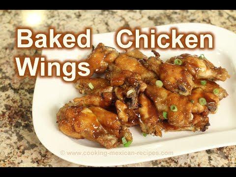 Sriracha Baked  Chicken Wings | Rockin Robin Cooks