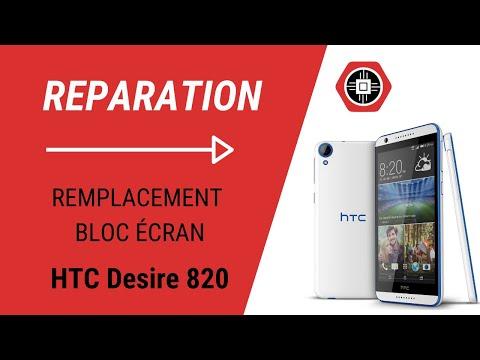 HTC Desire 820 Remplacement du bloc écran