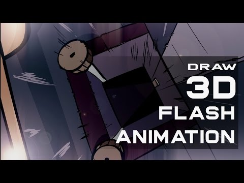 How To Animate With Perspective - 2D Animation Essential Tips