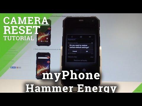 How to Reset Camera in myPhone Hammer Energy - Restore Camera Defaults  HardReset.Info