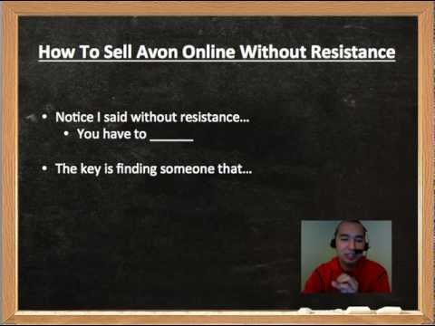 How To Sell Avon Online Without Resistance