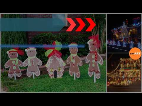 Christmas Lawn Decorations - Large Christmas Lawn Ornaments
