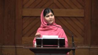 Malala Yousafzai Speaks at Harvard