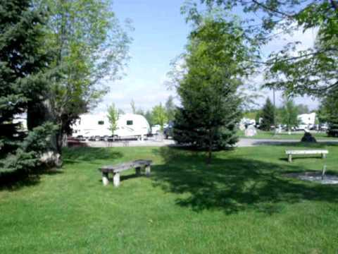 CDA RV Park in the Spring