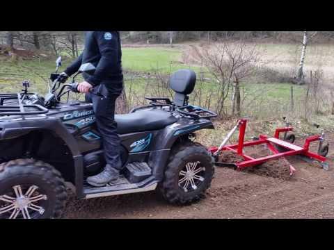 ATV road grader from gooffroad.se