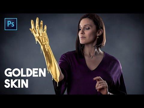 Golden Skin Effect in Photoshop