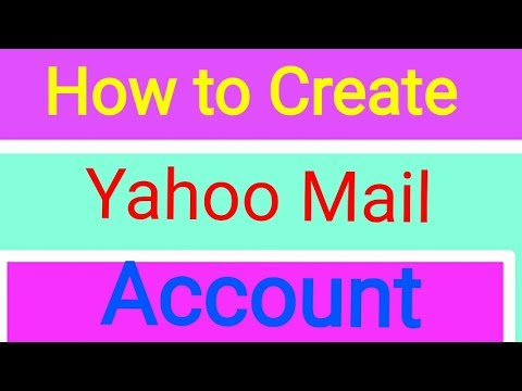 How to Create Yahoo Mail Account On android   Bangla Tutorial