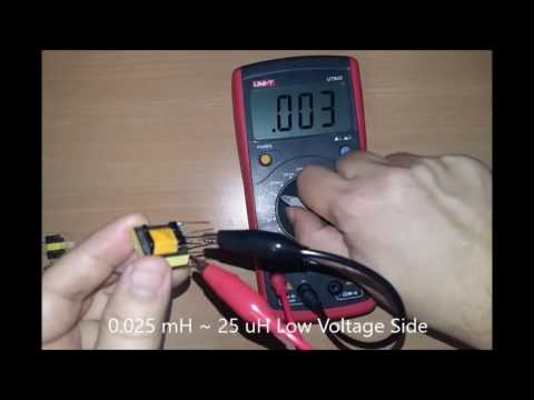 How to identify Transformers Pin and High Voltage Side using LCR Multimeter