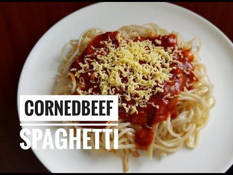 Cornedbeef Spaghetti