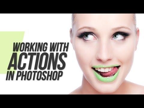 Adobe Photoshop CS5 Tutorial - Actions