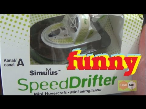 Simulus ★ Mini RC HOVERCRAFT ★ Speed Drifter
