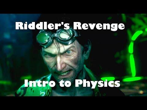 Batman: Arkham Knight - [Riddler's Revenge] Puzzle Room 2 - Intro to Physics