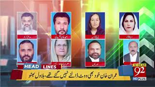 92 News Headlines 12:00 AM  - 20 April 2018 - 92NewsHDPlus