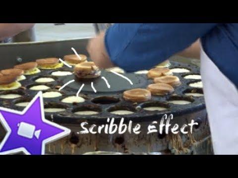 Scribble effect tutorial - iMovie