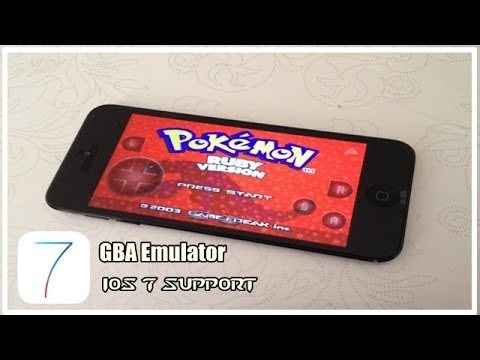 How to Install Gameboy Advance Emulator on iOS 7 - iPhone 5s/ 5c/ 4s/ 4, iPod Touch 5G and iPad
