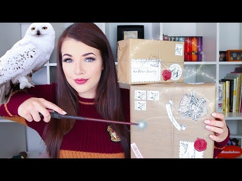 HARRY POTTER DIY | Christmas Owl Post Parcels | Cherry Wallis