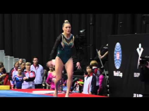 Emily Little (AUS) – Vault – 2015 AT&T American Cup