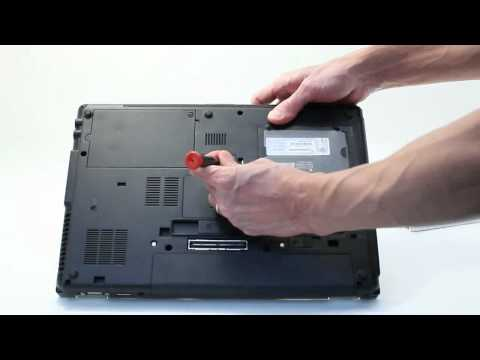 Add a 2nd HDD or SSD to an HP Laptop's Upgrade Bay