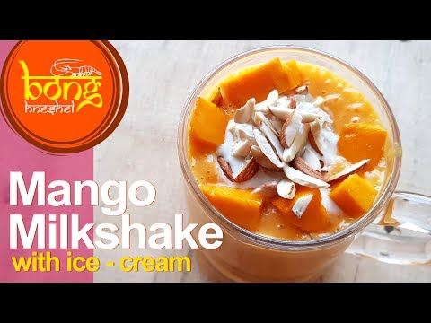 Mango Milkshake with Ice-Cream | Best Mango Mastani Recipe | Mango Ice-Cream Shake #29