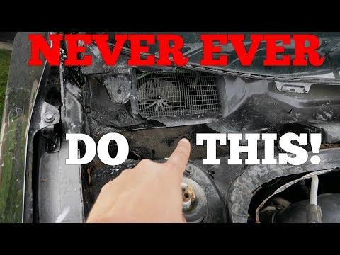 NEVER DO THIS When Rebuilding a Salvage Car