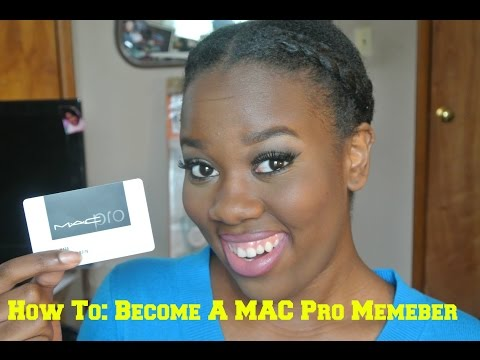 HOW TO: Get a MAC Pro Membership Card | Self Taught MUA