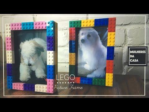 Lego Picture Frame #Lego Classic / Como Fazer moldura com Lego