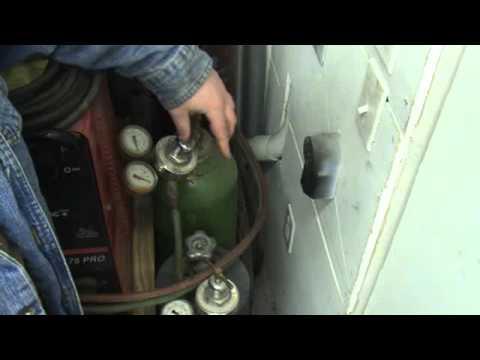 Oxygen&Acetylene Cutting Torch Set Up