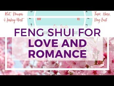 How to increase love and marriage luck with Feng Shui