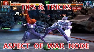 UNCOLLECTED ASPECT OF WAR NODE TIPS AND TRICKS marvel contest of champion