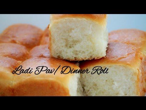 Eggless Ladi Pav Bread Buns Recipe(Easy Eggless and Vegan Dinner Rolls)