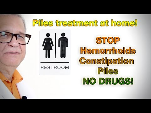 All Natural Supplement for relief of Hemorrhoids & Constipation Piles treatment at home