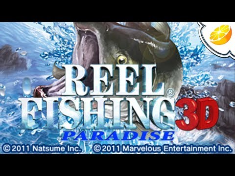 Citra Emulator Canary 454 | Reel Fishing Paradise 3D (GPU Shaders, Glitchy Audio) 1080p Nintendo 3DS