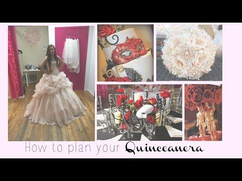 How To Plan Your Quinceañera : tips,tricks,DIY