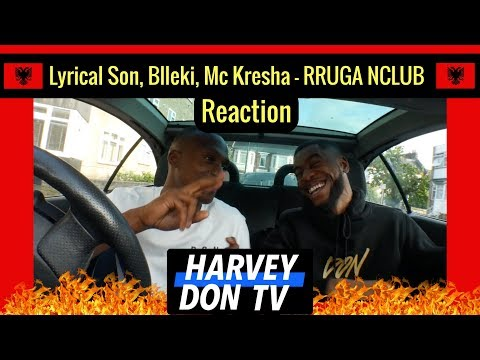 Lyrical Son, Blleki, Mc Kresha - RRUGA NCLUB Reaction