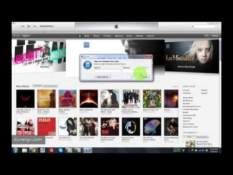 How to create a Free US iTunes Account without a Credit Card and Redeem gift card code 2014