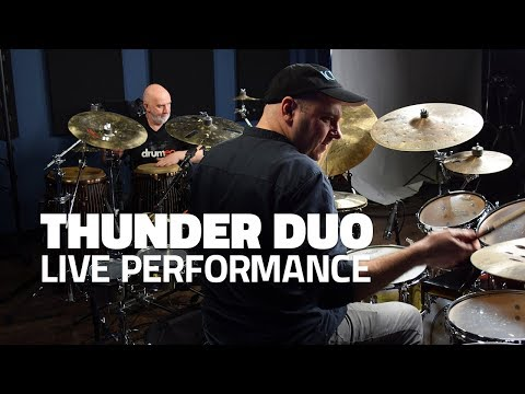 tHUNder Duo Live Performance - Drumeo