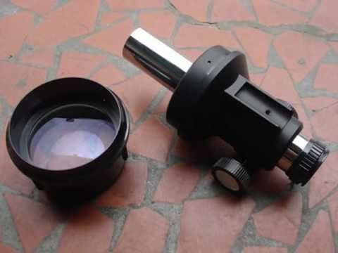 Homemade refractor telescope