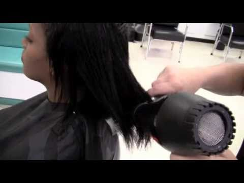 How to Shampoo, Condition and Blow Dry Relaxed Hair