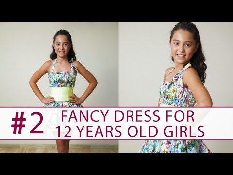 How to sew a dress for 12 years old girl? DIY tutorial 2