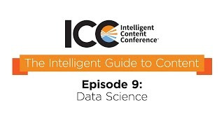 ICC Presents - The Intelligent Guide To Content Terms- Data Science