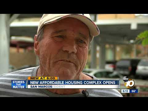 New affordable housing complex opens